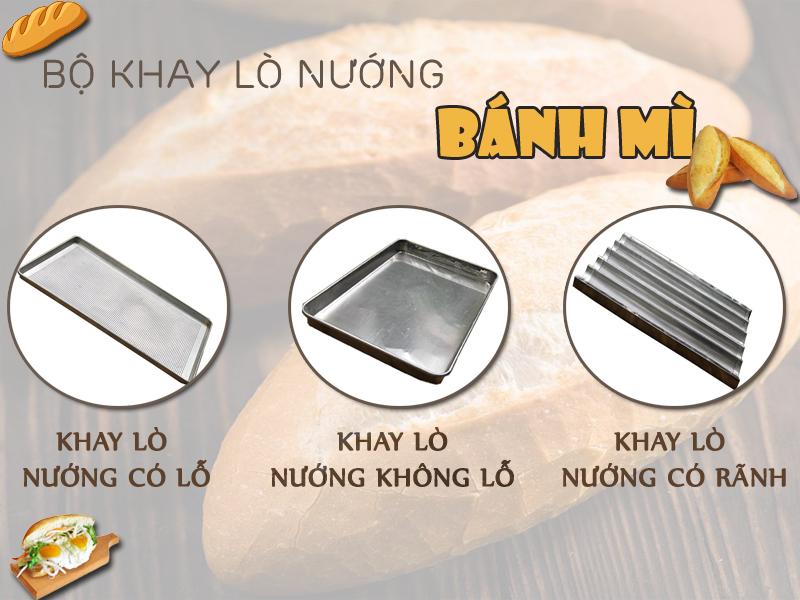 Bộ khay lò nướng bánh mì